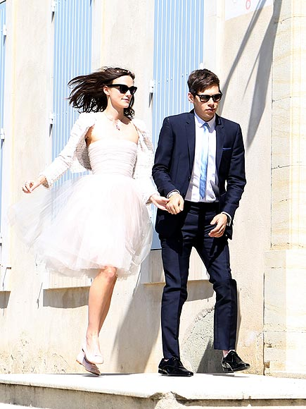 Keira Knightley and James Righton summers hottest wedding 2013
