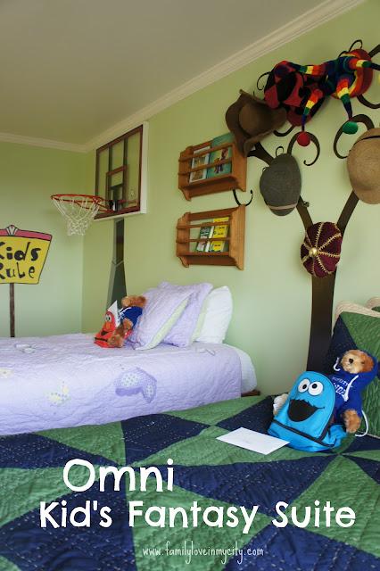 Omni Kids Fantasy Suite - San Antonio Colonnade
