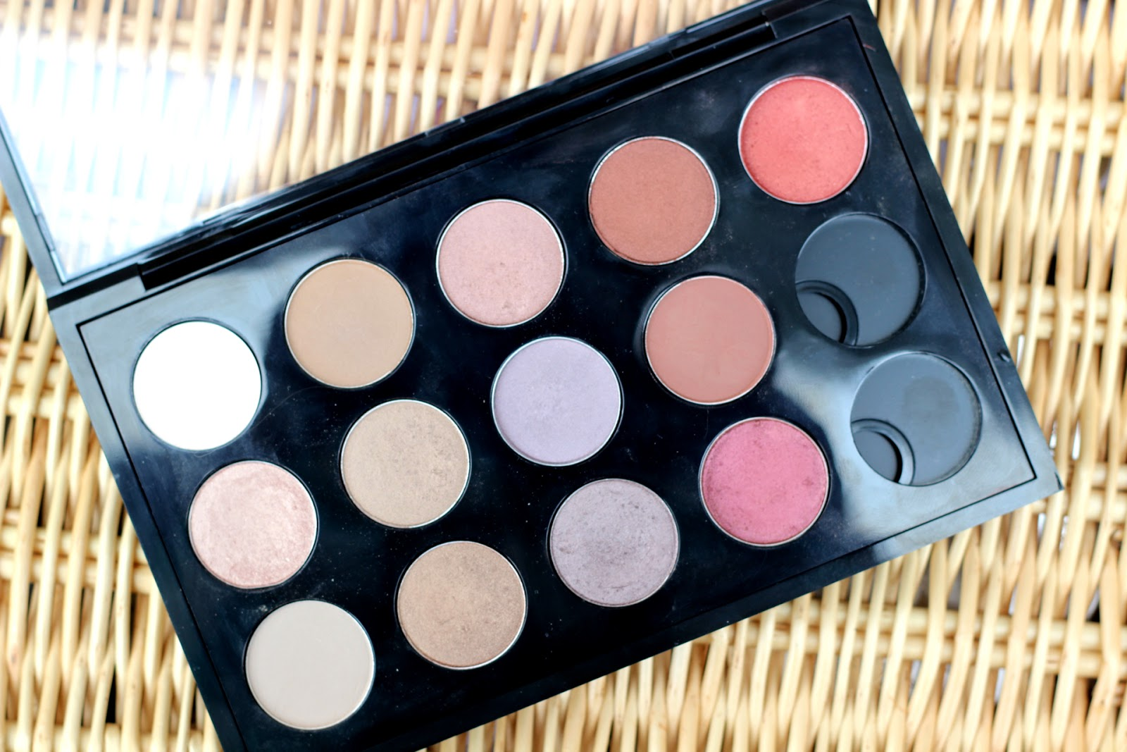 My Mac Eyeshadow Palette & Swatches