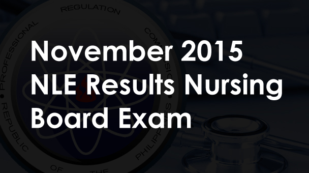 NLE November 2015 Nursing Board Exam