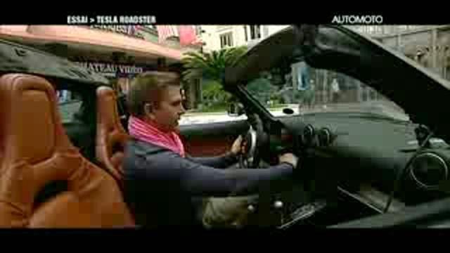 Essai de la Tesla Roadster