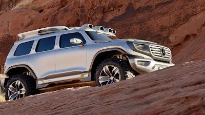Mercedes Benz Ener-G Force Concept