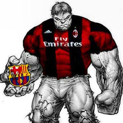 Milán le ganará al Barcelona