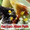 Resep Kue Lupis Ketan Hitam Putih. Legit, Kenyal dan Enak