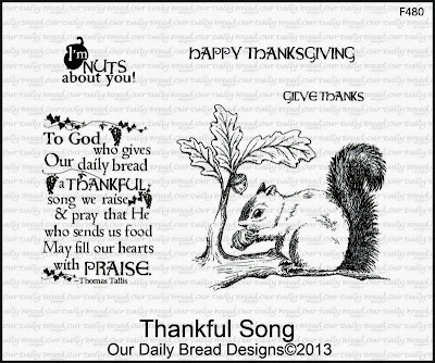 Stamps - Our Daily Bread Designs Thankful Song