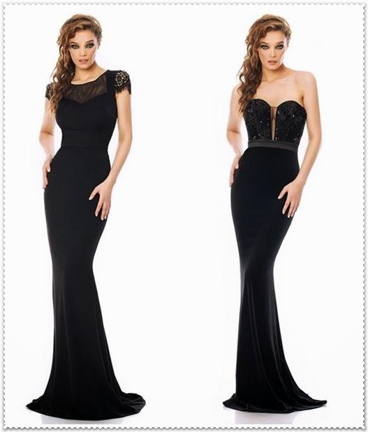 Stilvolle lange Kleider 2015