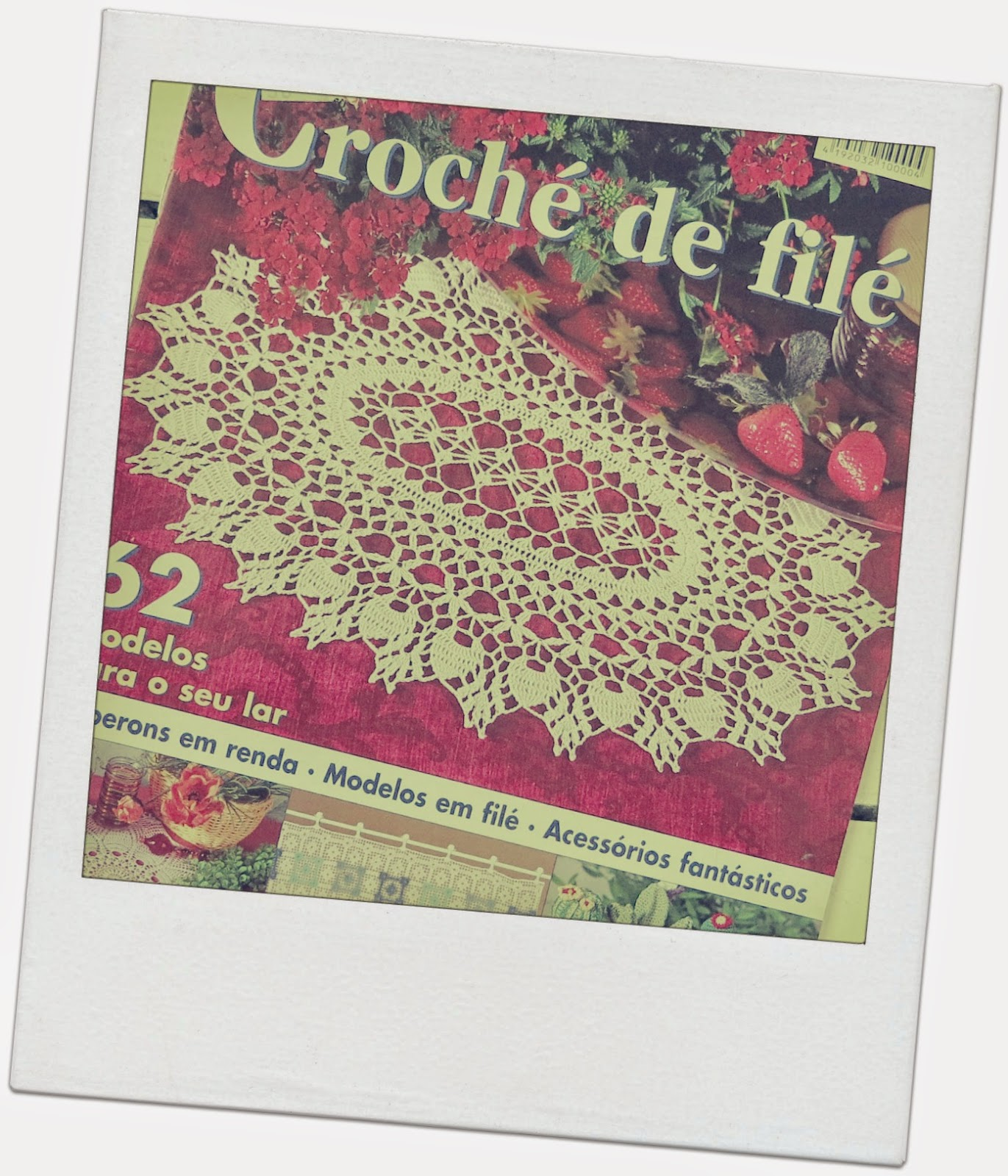 ByHaafner, Portuguese magazine, filet crochet
