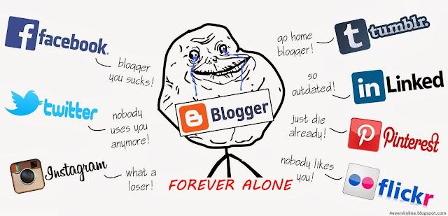 Blogger :'(