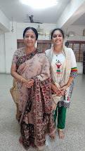 With Dr. Padma Subrahmanyan
