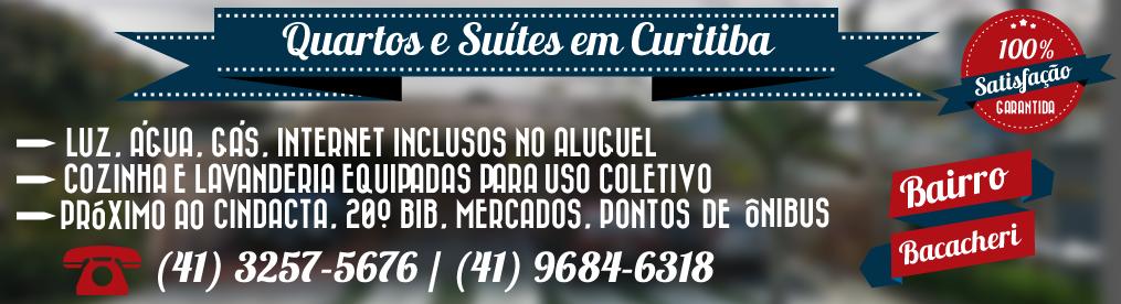 Aluguel de Quartos e Suítes em Curitiba