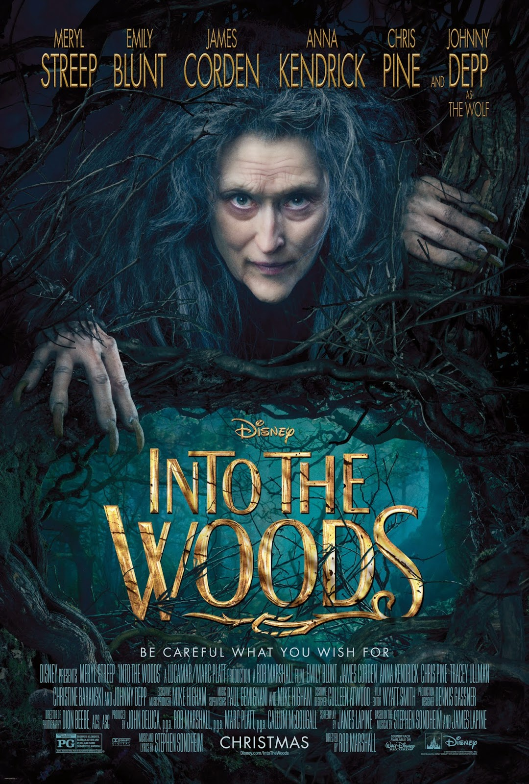 MOVIE REVIEW INTO THE WOODS 2014