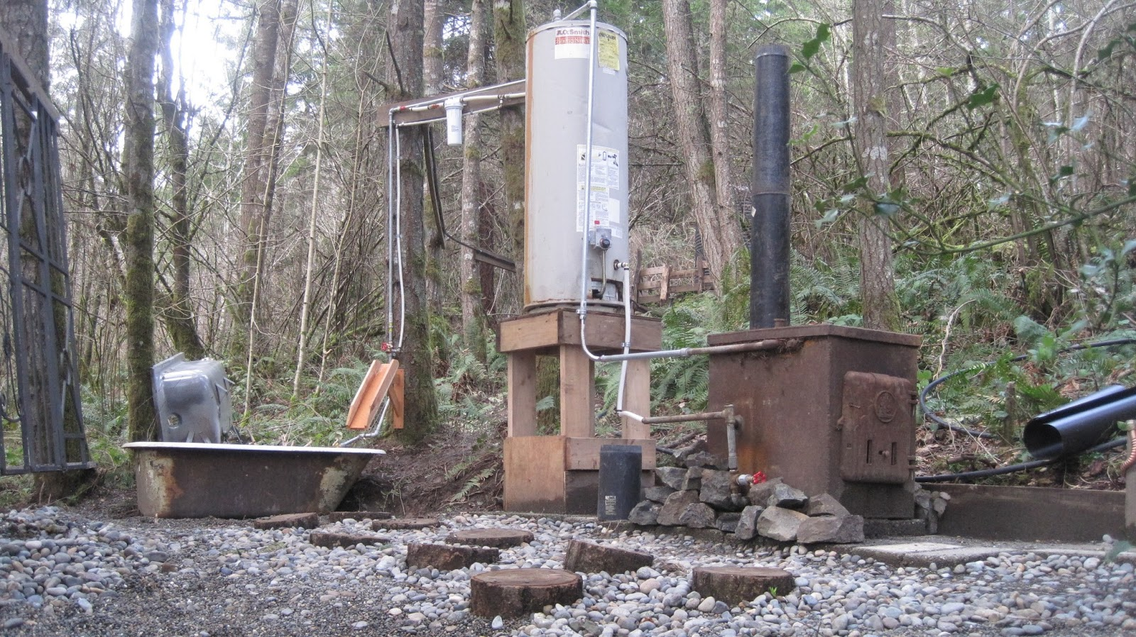 how to get off the water grid