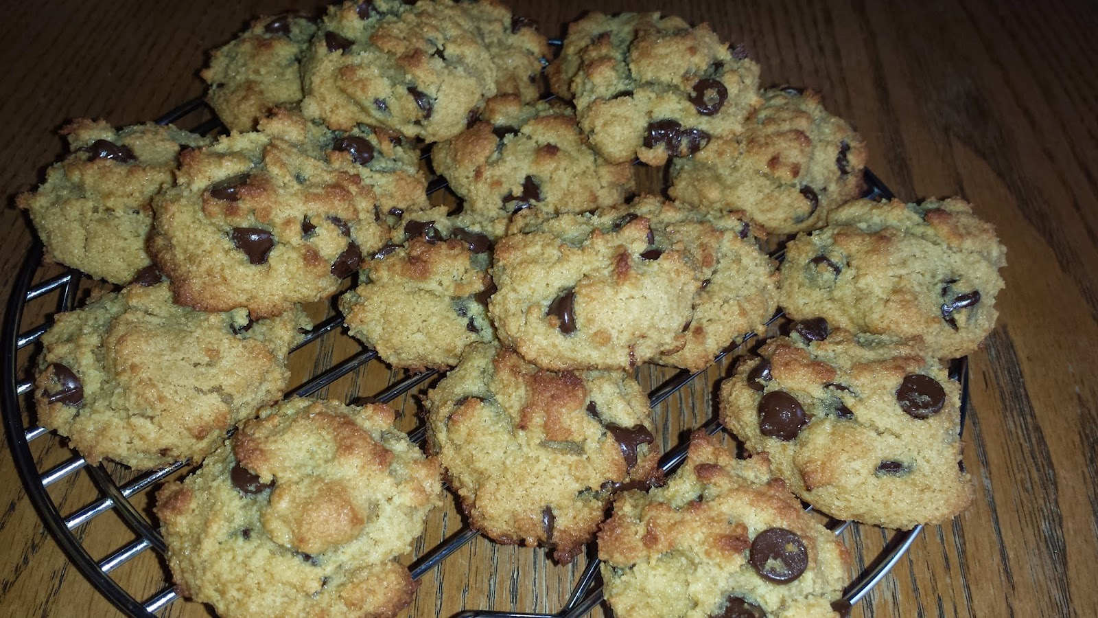Healthy Life Lessons: Passover Chocolate Chip Cookies (Gluten-Free)