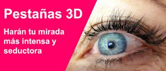 Pestañas 3D