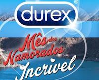 Promoção Mês dos Namorados Incrível Durex