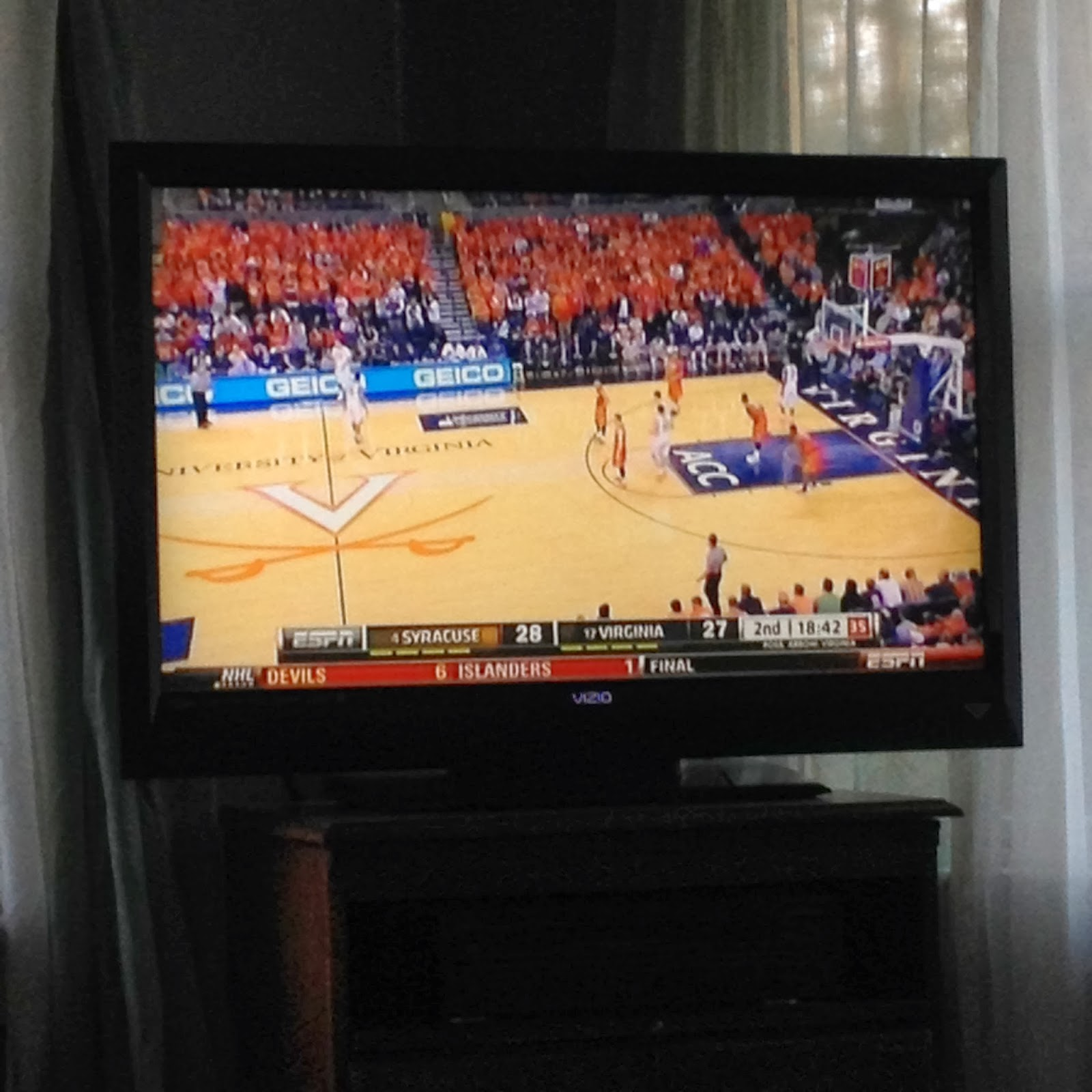 UVA vs Cuse ACC Champ game