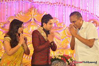 Celebraties at Actor Bharat n Jessy Wedding Reception Photos+%252832%2529 Actor Bharath n Jessy Wedding Photos