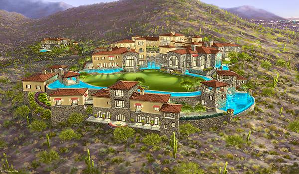Eileen S Home Design A Mediterranean Estate Being Built