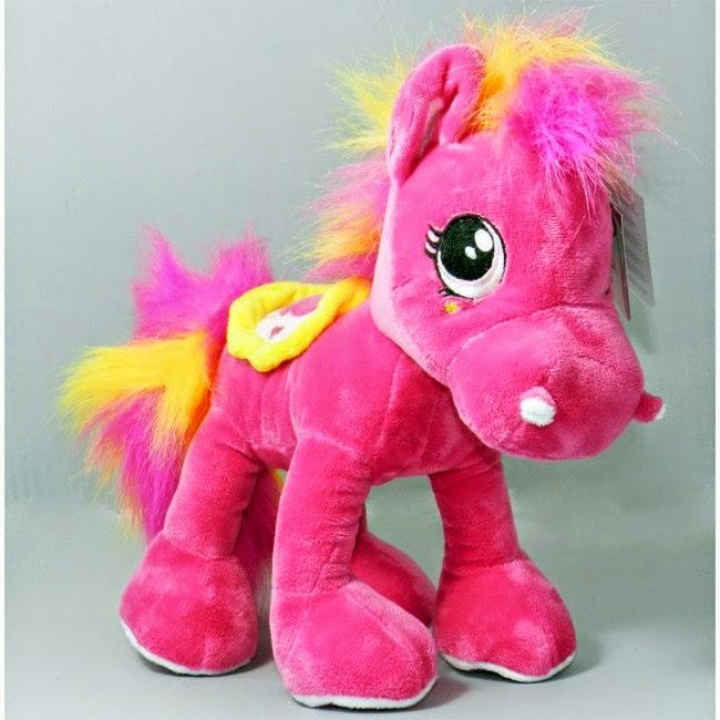 Pony Rosa Peluche