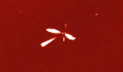 Giant Alien Butterfly Caught Near Earths Sun 2015, UFO Sightings