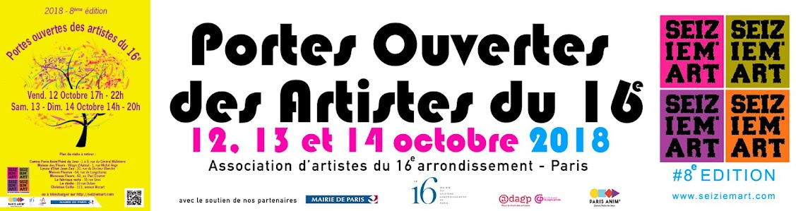 SEIZEIM'ART Association d'Artistes du 16e à Paris.
