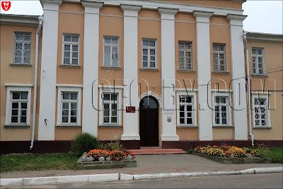 Дворцовый комплекс Тышкевичей в Воложине