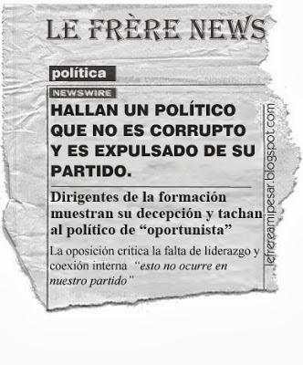 Política, corrupción
