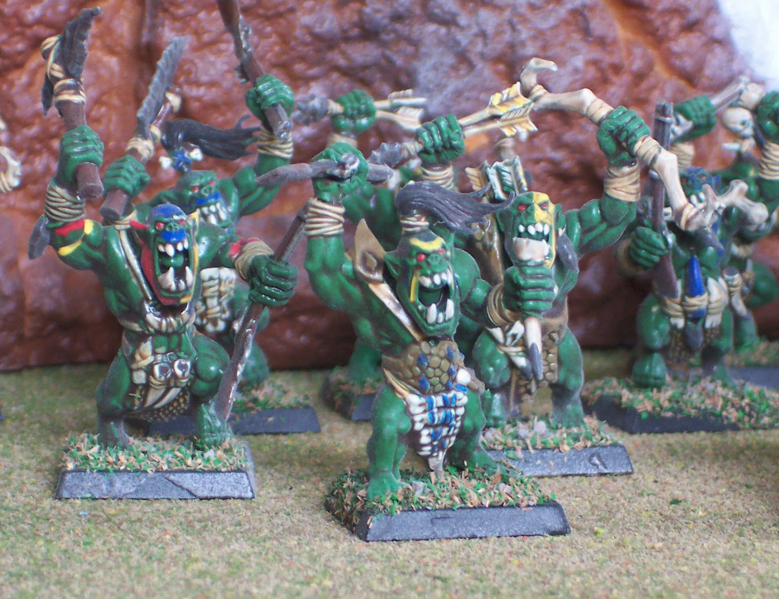 how to not get over painting so many orks