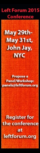 Register to attend the 2015 Left Forum