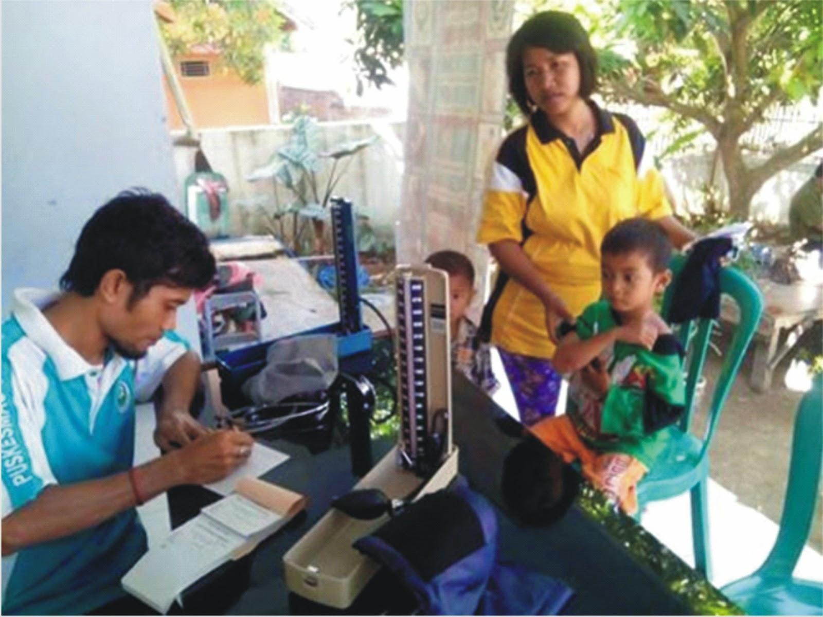 HUT ke-13 Kobi, Puskesmas Dara Gelar Pelayanan Kesehatan Gratis