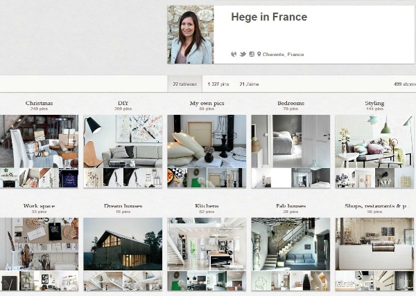Hege in France Pinterest boards