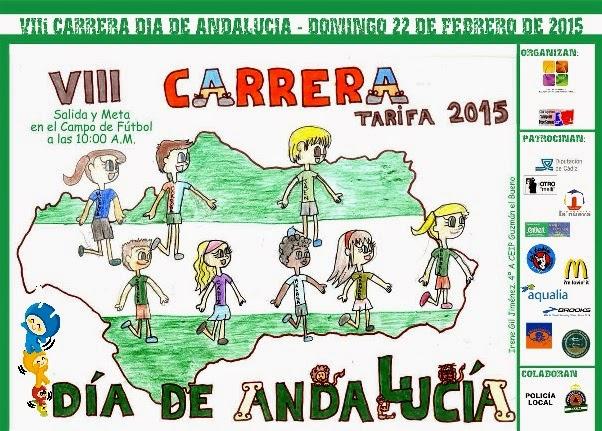 VIII CARRERA DÍA DE ANDALUCÍA 2015