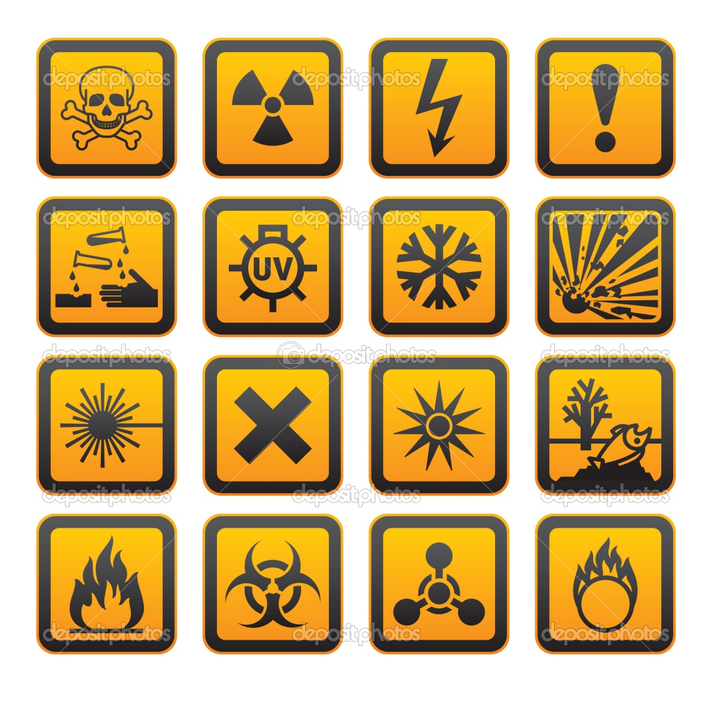 Bbc gcse bitesize hazard symbols and safety whmis workplace hazardous materials information system helps identify the inside this border is a symbol that represents the potential hazard eg fire ccuart Gallery
