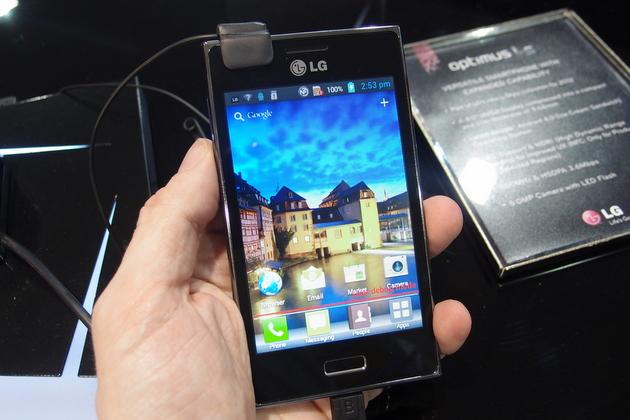 lg optimus l5 hands on launch