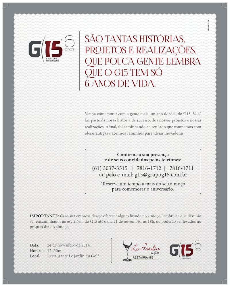 Aniversário do Grupo G15