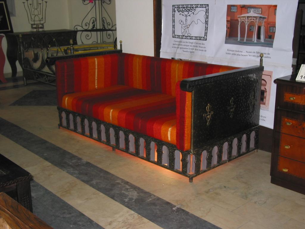Artisanat du maroc le canap le plus confortable du maroc - Canape le plus confortable ...