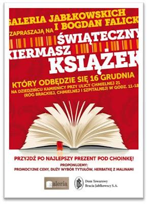 Zaproszenie na kiermasz książek
