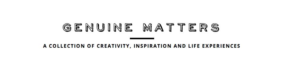 Genuine Matters