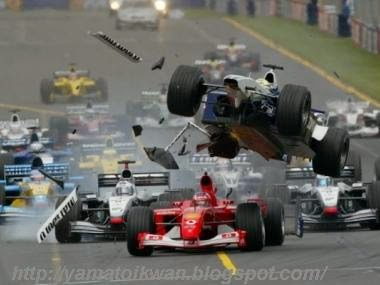 Balapan F1 yang penuh Resiko