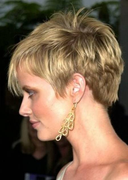 The Captivating Really Short Pixie Hairstyles Photograph