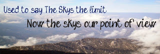 """Setting the sky as your limit is overrated  - Set the sky as your base..."