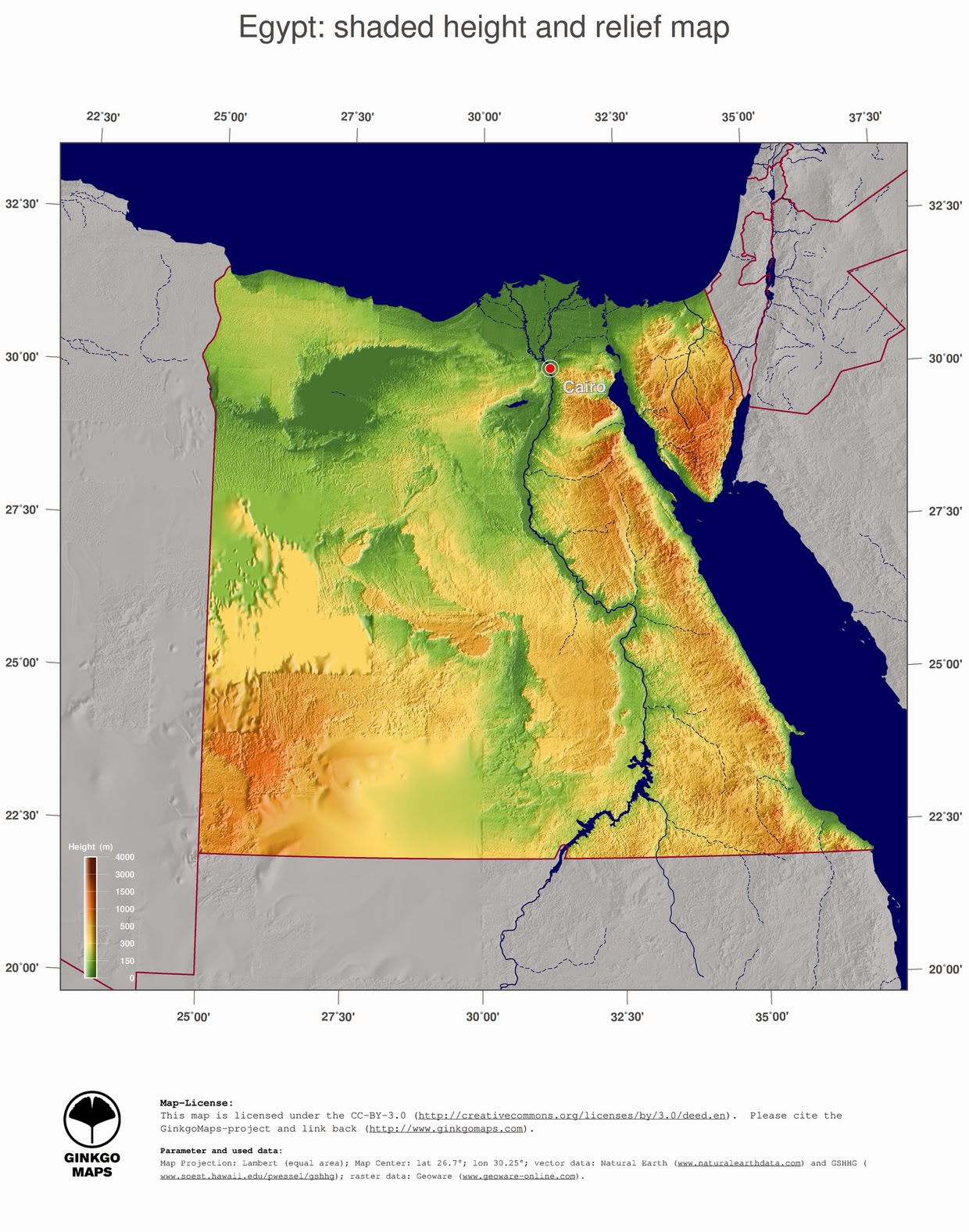Free Maps Download Egypt Map - Map of egypt free download