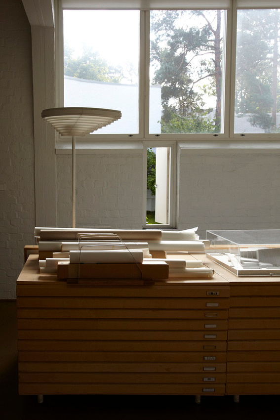 Alvar Aalto Studio, Helsinki. Photo Leslie Williamson