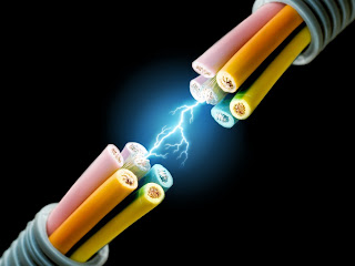Electricity wallpaper
