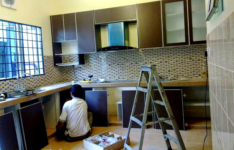 Perkhidmatan mengubahsuai rumah Teraju Utama, kabinet dapur, Teraju Utama