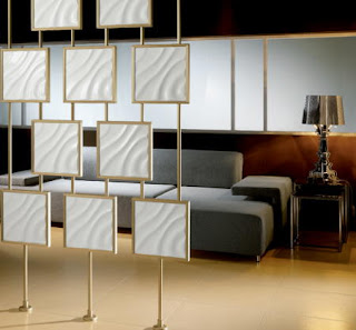 Separadores de espacios y ambientes divisi n de sala y comedor dise o y decoraci n de - Biombos y separadores de espacios ...