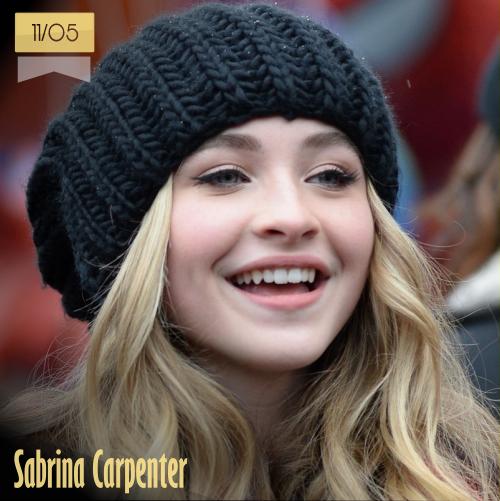 11 de mayo | Sabrina Carpenter - @SabrinaAnnLynn | Info + vídeos