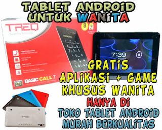 Tablet Android Murah untuk Wanita TREQ Basic Call 7