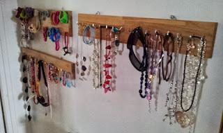 récup pour créer un porte bijoux
