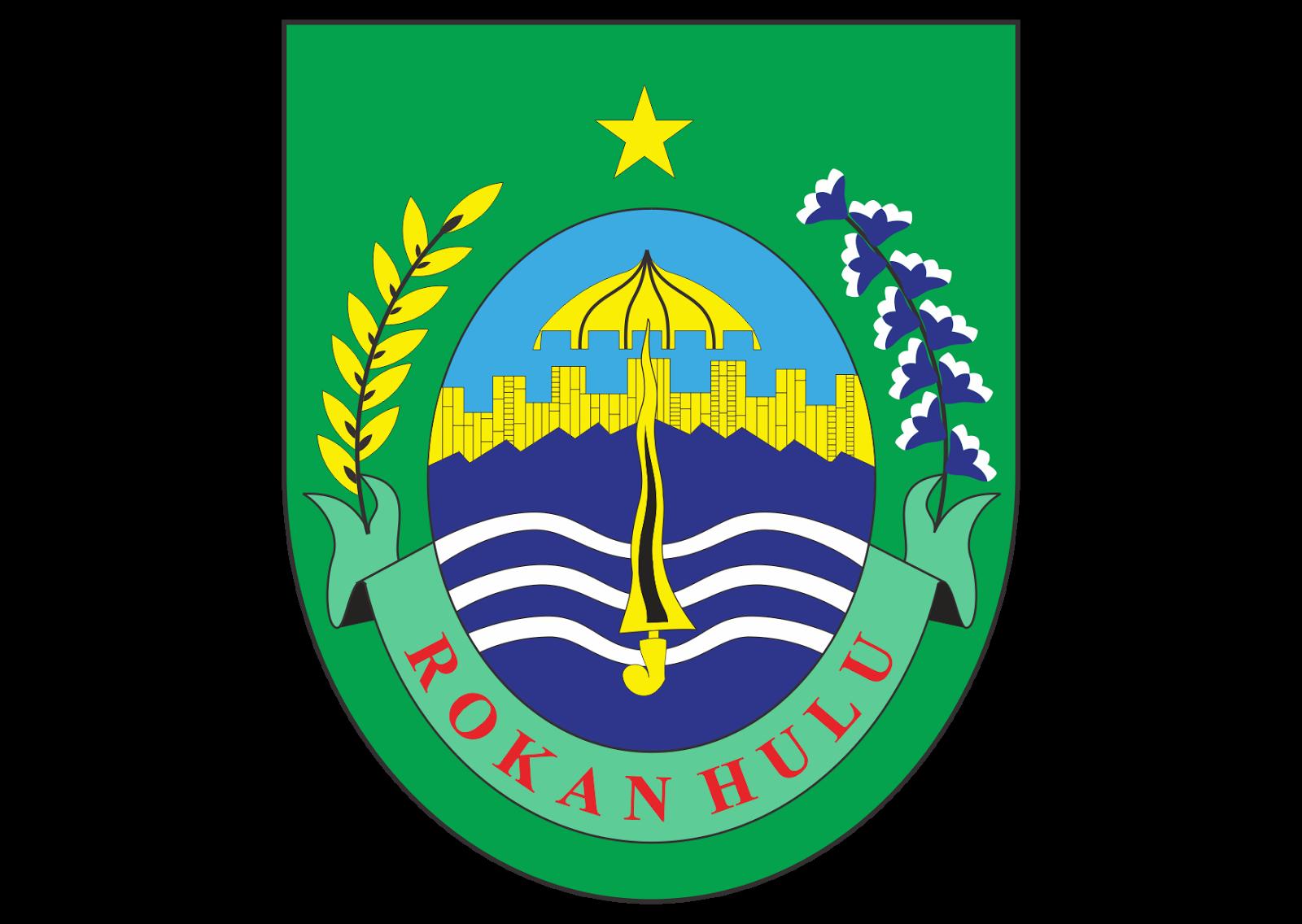 kabupaten rokan hulu logo vector format cdr ai eps svg